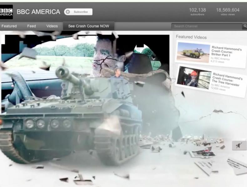 BBC Top Gear – Youtube 'crash'