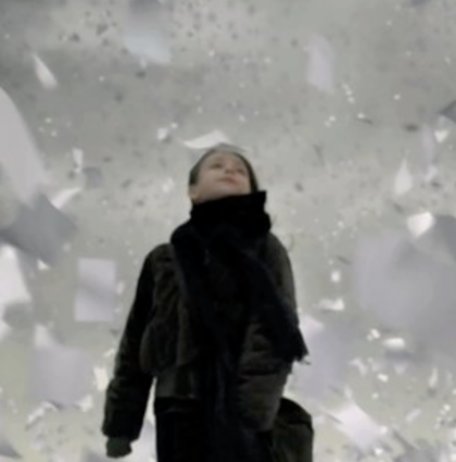 National Geographic Channel – Snowing Paper
